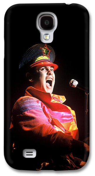 Elton John Photographs Galaxy S4 Cases - Elton John #1 Galaxy S4 Case by Chris Deutsch