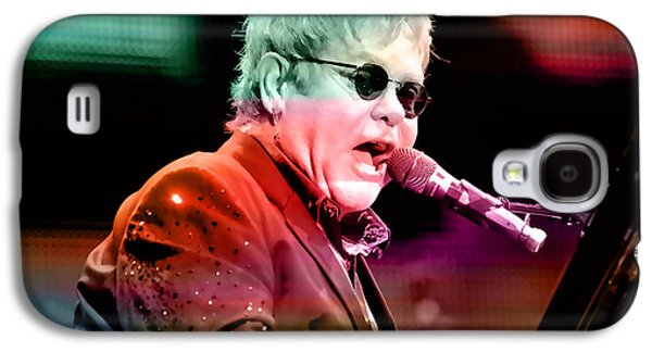 Elton John Galaxy S4 Cases - Elton John Galaxy S4 Case by Marvin Blaine