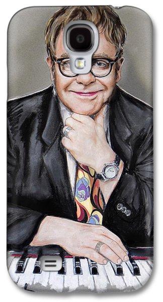 Elton John Galaxy S4 Cases - Elton John Galaxy S4 Case by Melanie D