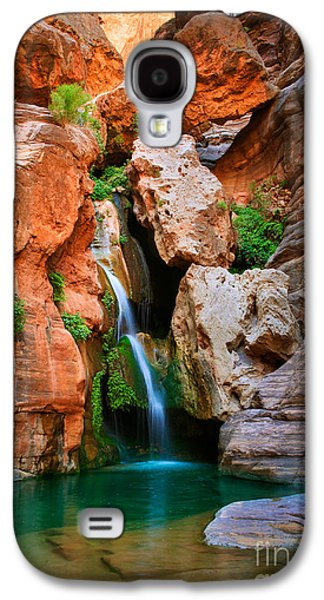 Grand Canyon Photographs Galaxy S4 Cases - Elves Chasm Galaxy S4 Case by Inge Johnsson