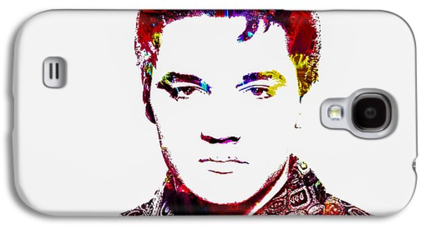 Nashville Tennessee Paintings Galaxy S4 Cases - Elvis 3b Galaxy S4 Case by Brian Reaves