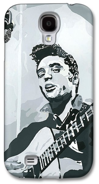Elvis At Sun Galaxy S4 Case by Suzanne Gee