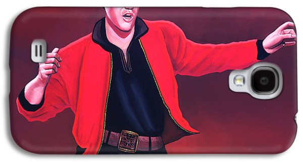 Elvis Presley Galaxy S4 Cases - Elvis Presley 4 Galaxy S4 Case by Paul  Meijering