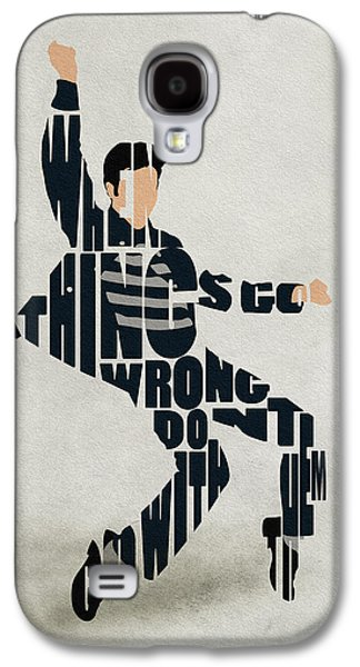 Elvis Presley Galaxy S4 Cases - Elvis Presley Galaxy S4 Case by Ayse Deniz