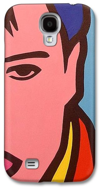 Icons Prints Paintings Galaxy S4 Cases - Elvis Presley Galaxy S4 Case by John  Nolan