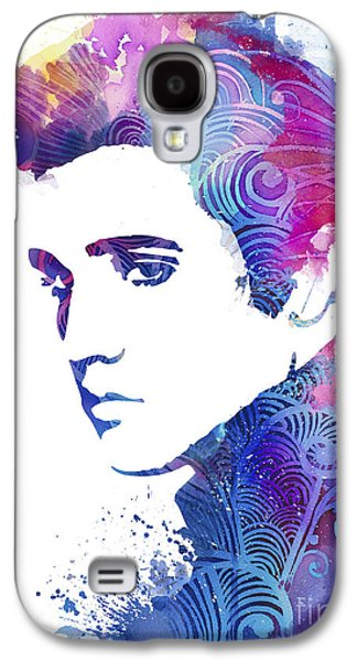 Elvis Presley Galaxy S4 Cases - Elvis Presley Galaxy S4 Case by Luke and Slavi