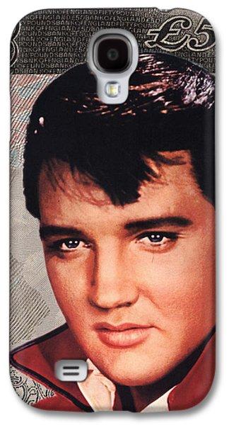 Dogs Digital Art Galaxy S4 Cases - Elvis Presley Galaxy S4 Case by Unknown