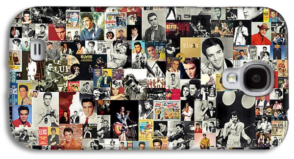 Elvis Presley Galaxy S4 Cases - Elvis The King Galaxy S4 Case by Taylan Soyturk