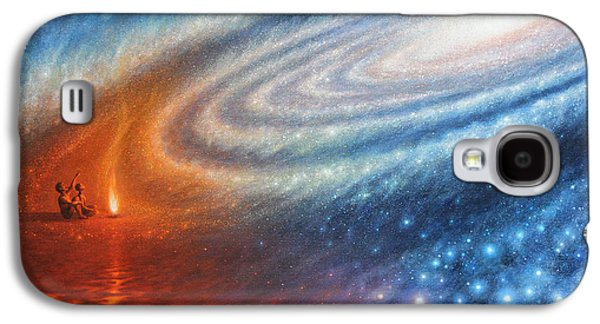 Embers Of Exploration And Enlightenment Galaxy S4 Case by Lucy West