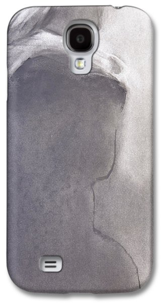 White Pastels Galaxy S4 Cases - Embrace Galaxy S4 Case by Janet Goddard