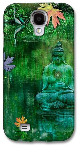 Emerald Crane Galaxy S4 Case by Alixandra Mullins