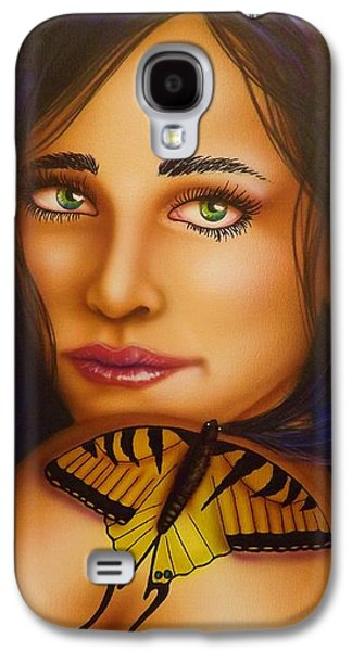 Alluring Paintings Galaxy S4 Cases - Emergence Galaxy S4 Case by Darren Robinson