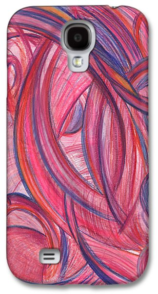 Thought Drawings Galaxy S4 Cases - Emerges from Us Galaxy S4 Case by Kelly K H B