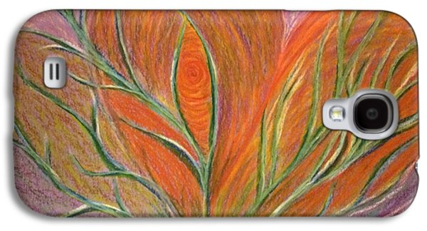 Spiritual Pastels Galaxy S4 Cases - Emerging Heart Galaxy S4 Case by Jamie Rogers