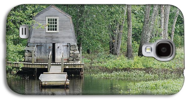 Emerson Boathouse Concord Massachusetts Galaxy S4 Case by Amy Porter