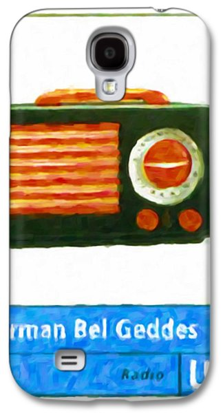 Old Pitcher Paintings Galaxy S4 Cases - Emerson  Patriot  Radio Galaxy S4 Case by Lanjee Chee