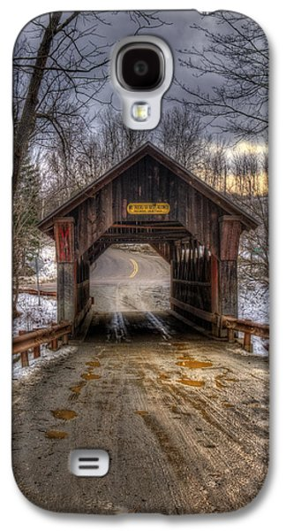 Emily's Bridge - Stowe Vermont Galaxy S4 Case by Joann Vitali