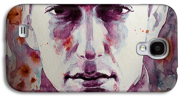 Eminem Paintings Galaxy S4 Cases - Eminem 2 Galaxy S4 Case by Laur Iduc