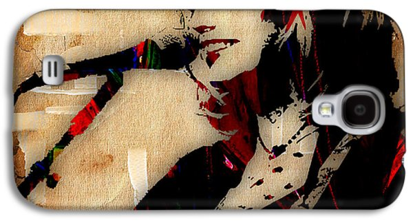 Emmylou Harris Collection Galaxy S4 Case by Marvin Blaine