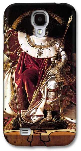 Emperor Galaxy S4 Cases - Emperor Napoleon I On His Imperial Throne Galaxy S4 Case by War Is Hell Store