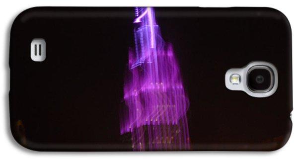 Creepy Galaxy S4 Cases - Empire Light Blur Galaxy S4 Case by Paulo Guimaraes