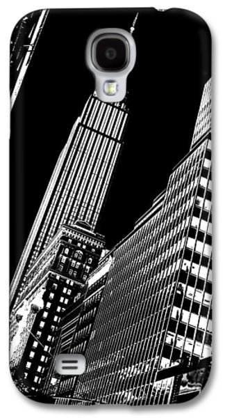 Midtown Galaxy S4 Cases - Empire Perspective Galaxy S4 Case by Az Jackson