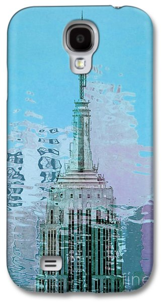 Featured Art Galaxy S4 Cases - Empire State Building 1 Galaxy S4 Case by Az Jackson