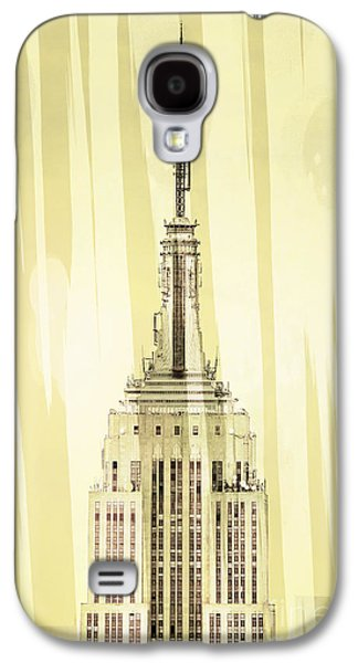 Featured Art Galaxy S4 Cases - Empire State Building 2 Galaxy S4 Case by Az Jackson