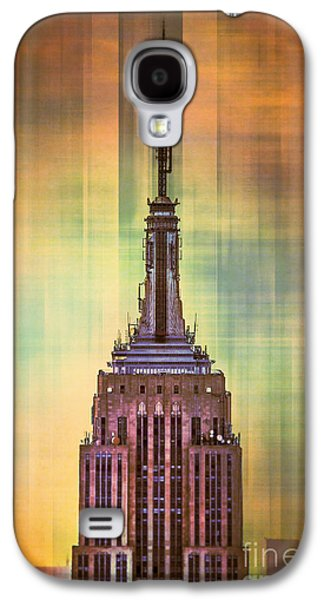 Empire State Building 3 Galaxy S4 Case by Az Jackson