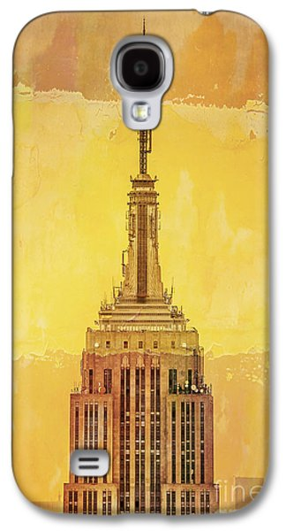 Empire State Building 4 Galaxy S4 Case by Az Jackson