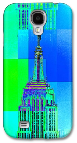 Featured Art Galaxy S4 Cases - Empire State Building 5 Galaxy S4 Case by Az Jackson