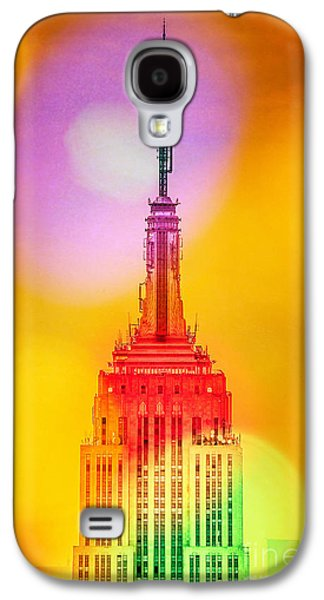 Featured Art Galaxy S4 Cases - Empire State Building 6 Galaxy S4 Case by Az Jackson