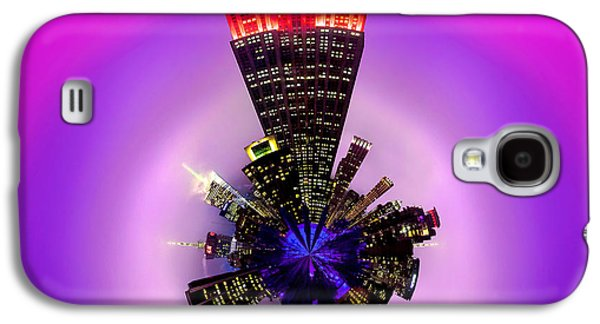 Midtown Galaxy S4 Cases - Empire State Building Circagraph Galaxy S4 Case by Az Jackson