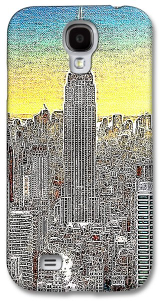 Manhatten Galaxy S4 Cases - Empire State Building New York City 20130425 Galaxy S4 Case by Wingsdomain Art and Photography
