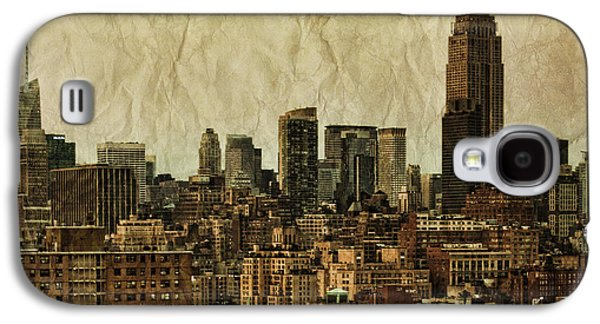 Landmarks Photographs Galaxy S4 Cases - Empire Stories Galaxy S4 Case by Andrew Paranavitana