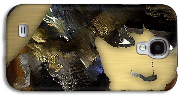 Empire Galaxy S4 Cases - Empires Naomi Campbell Camilla Galaxy S4 Case by Marvin Blaine