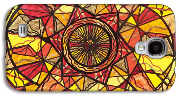 Geometry Paintings Galaxy S4 Cases - Empowerment Galaxy S4 Case by Teal Eye  Print Store