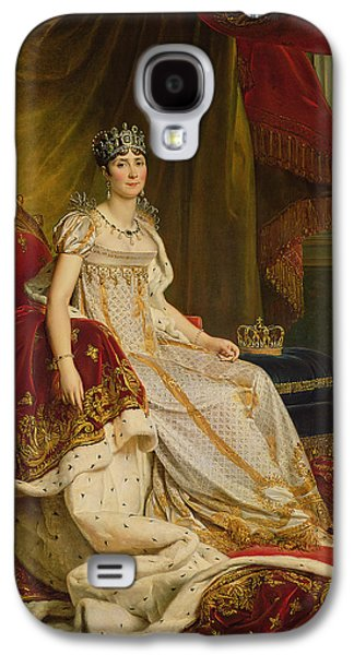 Wife Galaxy S4 Cases - Empress Josephine 1763-1814 1808 Oil On Canvas Galaxy S4 Case by Francois Pascal Simon, Baron Gerard