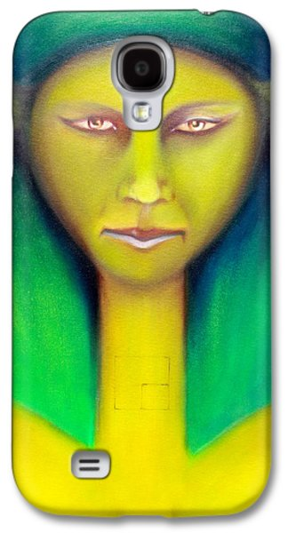 Wicca Paintings Galaxy S4 Cases - Empress Galaxy S4 Case by Roger Williamson
