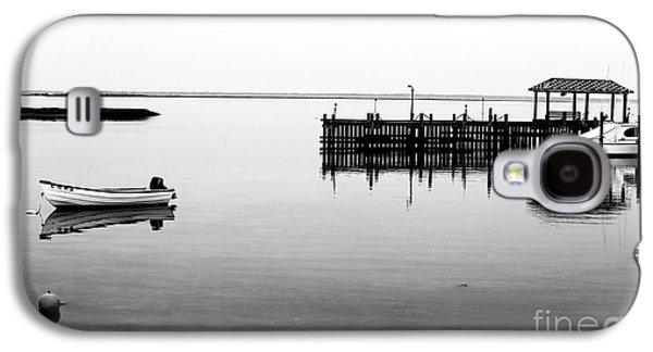 Boats At Dock Galaxy S4 Cases - Emptiness at Long Beach Island Galaxy S4 Case by John Rizzuto
