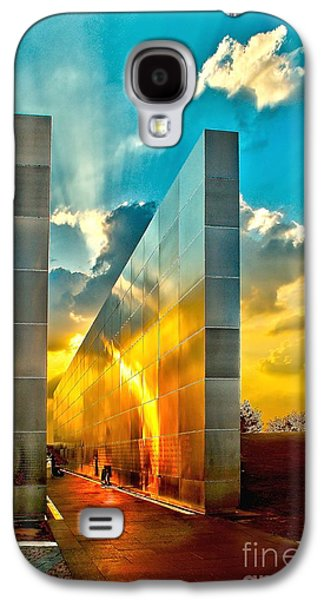 Wtc 11 Galaxy S4 Cases - Empty Skies Sunset Galaxy S4 Case by Nick Zelinsky