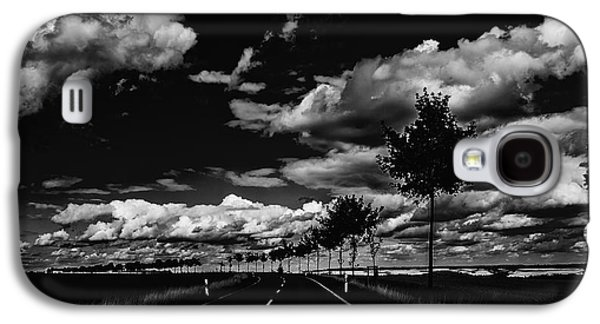 Poster Art Galaxy S4 Cases - En route Galaxy S4 Case by Jb Atelier