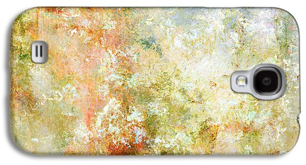 Cherry Blossoms Mixed Media Galaxy S4 Cases - Enchanted Blossoms - Abstract Art Galaxy S4 Case by Jaison Cianelli