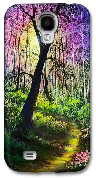 Enchanted Forest Galaxy S4 Case by C Steele