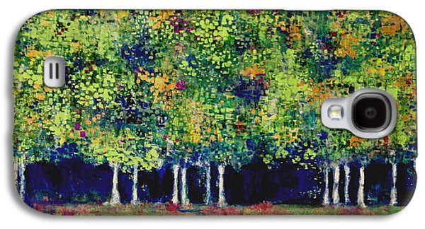 Surreal Landscape Galaxy S4 Cases - Enchanted Forest Galaxy S4 Case by Elise Ritter