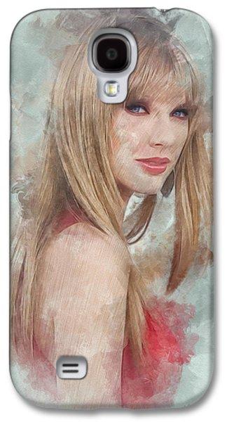 Taylor Swift Galaxy S4 Cases - Enchanted Galaxy S4 Case by Marina Likholat