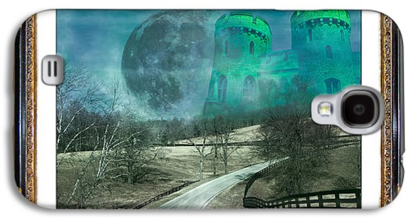 The Houses Mixed Media Galaxy S4 Cases - Enchanting Evening with Oz Galaxy S4 Case by Betsy A  Cutler