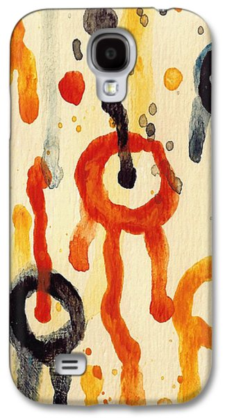 Nature Abstract Galaxy S4 Cases - Encounters 2 Galaxy S4 Case by Amy Vangsgard