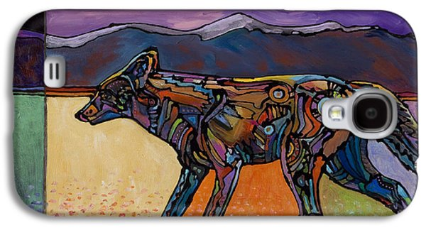 Surrealistic Paintings Galaxy S4 Cases - End of a Long Day Galaxy S4 Case by Bob Coonts