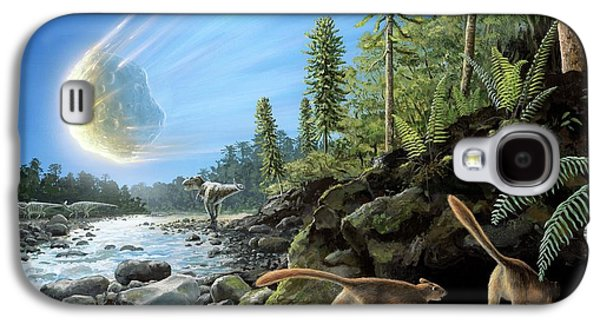 End Of Cretaceous Kt Event Galaxy S4 Case by Richard Bizley